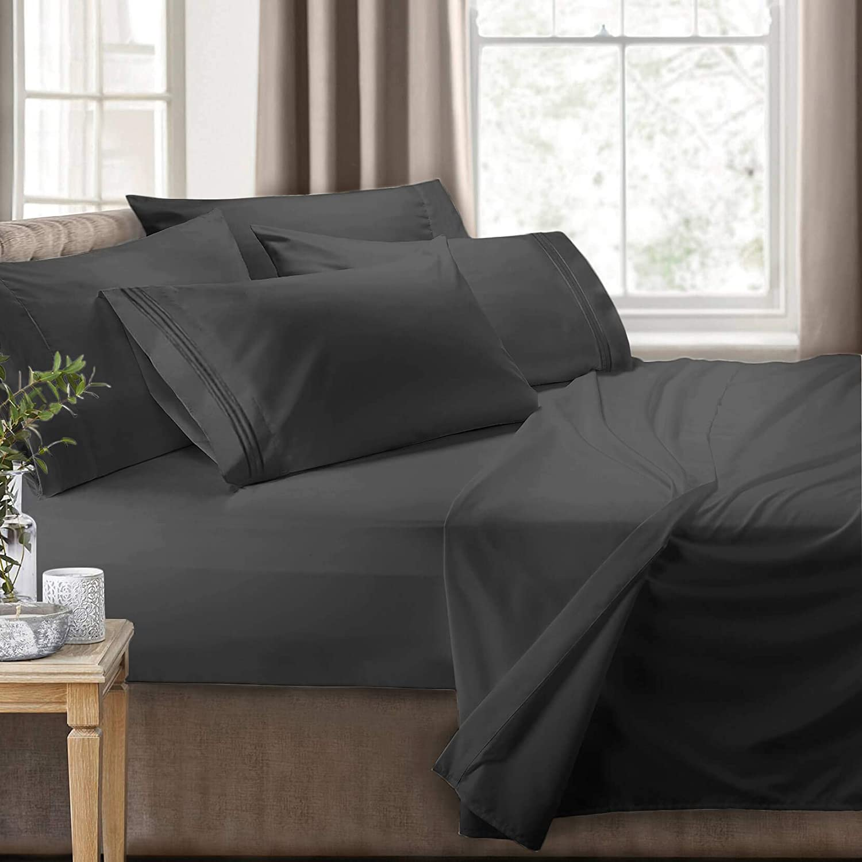 Clara Clark RV/Short Queen 6-Piece Bed Set for Campers