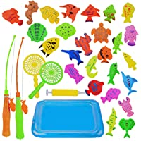 Abree Juego de Pesca Magnética(26 Peces) - Juguete