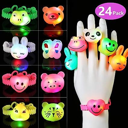Finger Balls LED Fidget Toys Game Christmas Stocking Party Bag Fillers Favors