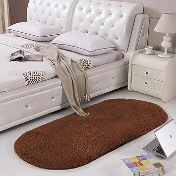 Welche Farbe Pt Ins Schlafzimmer | Amazon De Ymxlqq Teppiche Nachttisch Teppiche Oval Teppiche