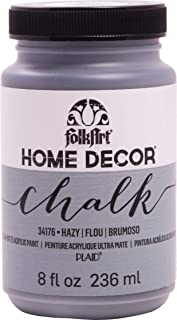 product image for FolkArt Home Decor Chalk Furniture & Craft Paint in Assorted Colors, 8 ounce, Hazy