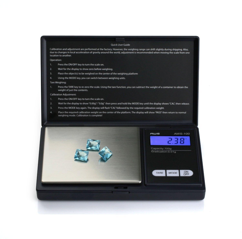 ArturoLudwig Báscula digital de precisión - Peso máximo: 1000 g/Granularidad: 0, 1 g - Color Plateado: Amazon.es: Hogar