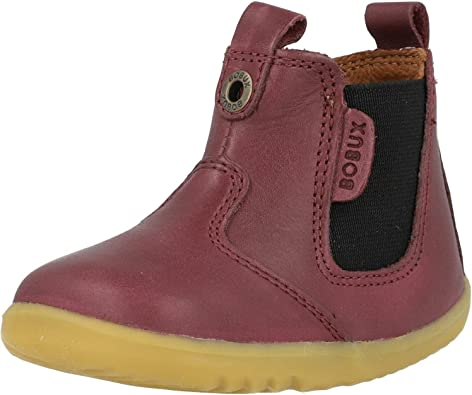 Bobux I Walk Jodphur Boots in Red Leather