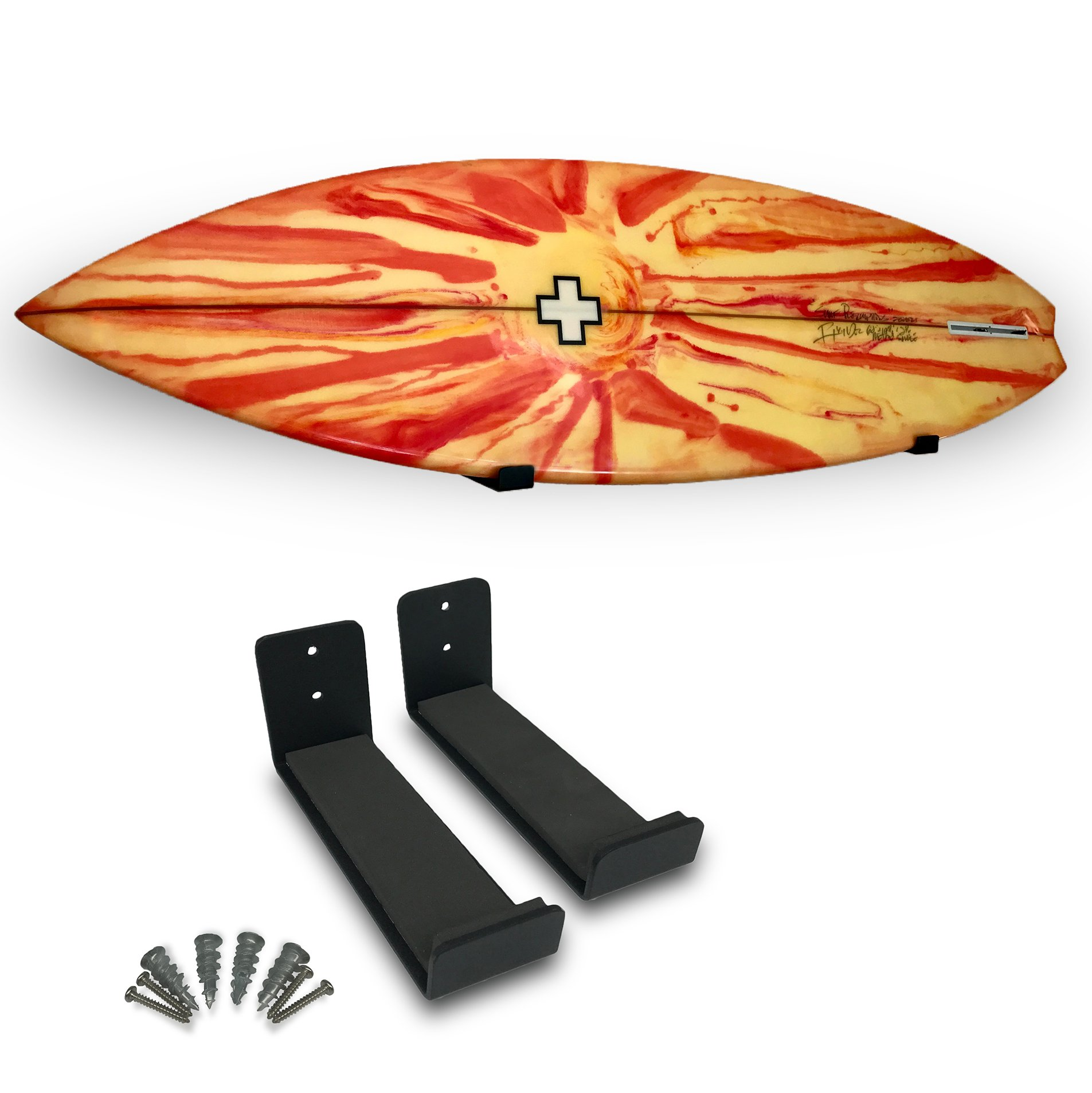 Nice Rack | Simple Surfboard Display Rack - Better Foam & Mounting Hardware Compared to Competing Products!!!
