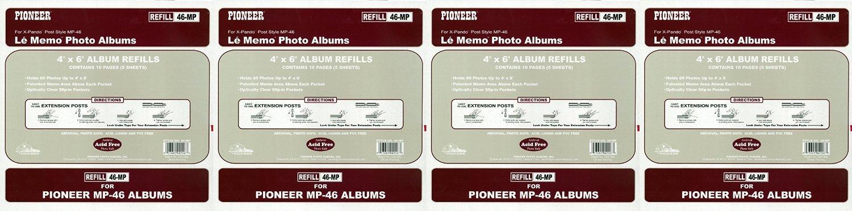Pioneer 46MP Photo Albums Memo Pocket Album Refill (4)