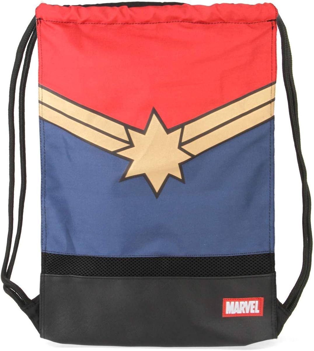 Karactermania Captain Marvel Powerful-sacca Storm Bolsillo Suelto para Mochila 48 Centimeters Multicolour