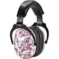 ZOHAN EM030 [Upgraded] Kids Ear Protection Safety Ear Muffs (Flamingo)