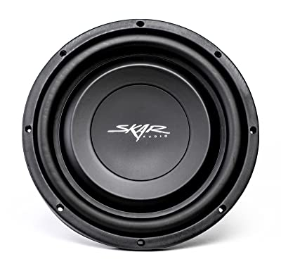 "Skar Audio EV-10 D2 10"" Dual 2-Ohm 400W Shallow Mount Car Subwoofer"