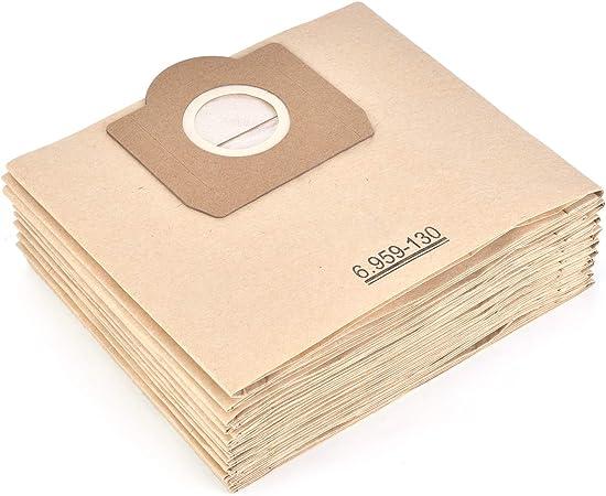 15x Staubsaugerbeutel für Kärcher WD 3-1.629-801.0