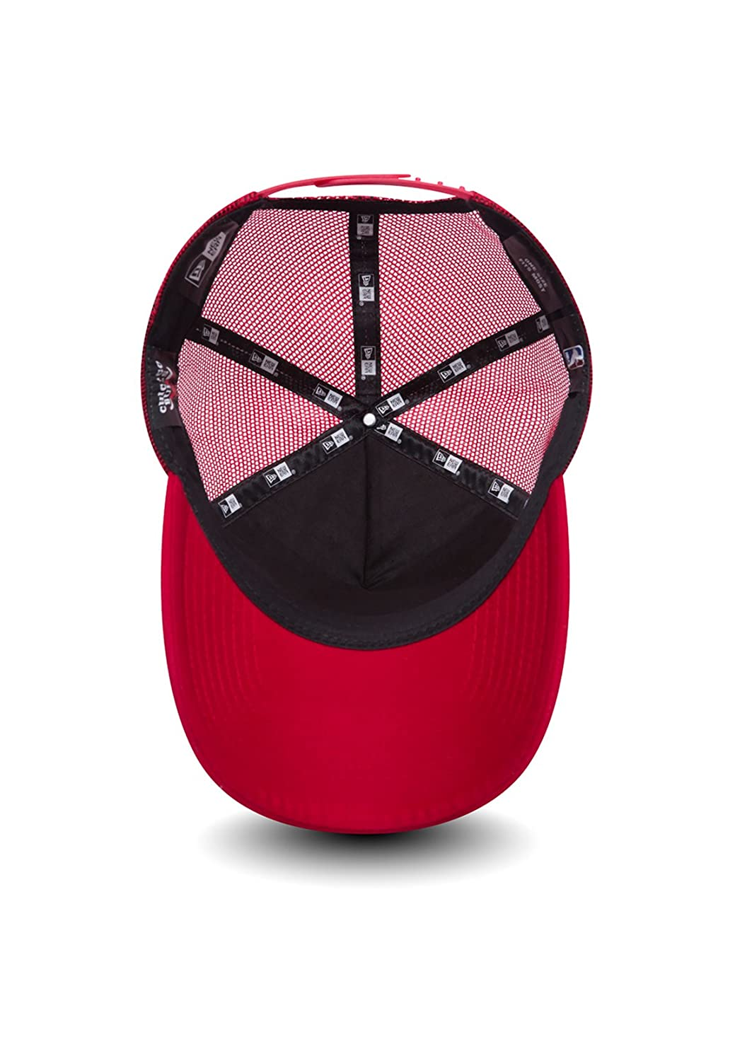 f809e0884fd New Era NBA Chain Stitch A-Frame Trucker Cap (Chicago Bulls)  Amazon.co.uk   Sports   Outdoors