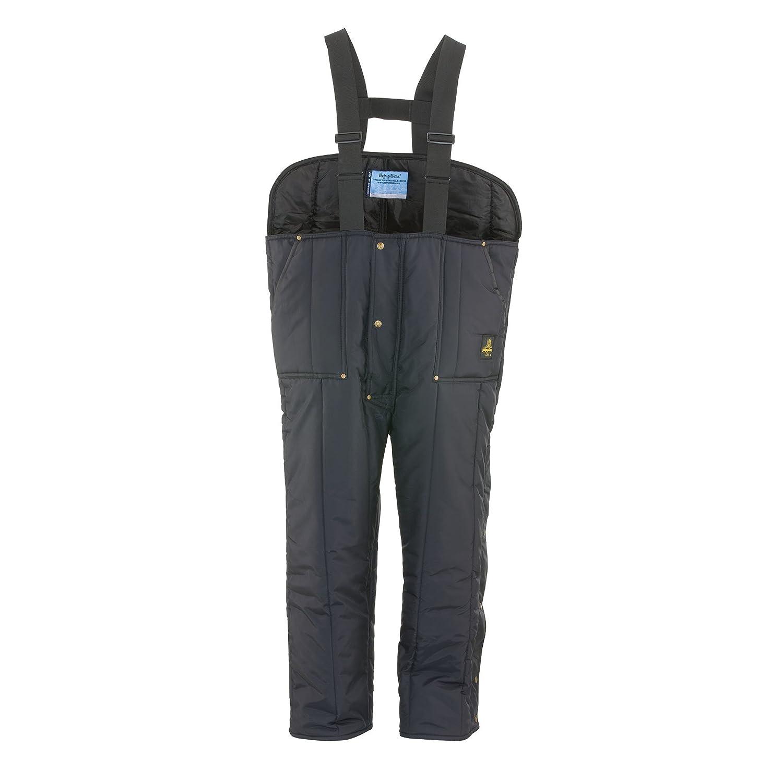 RefrigiWearメンズiron-tuff Low Bib Overalls B00OI5SHRQ Large Short|ネイビー ネイビー Large Short