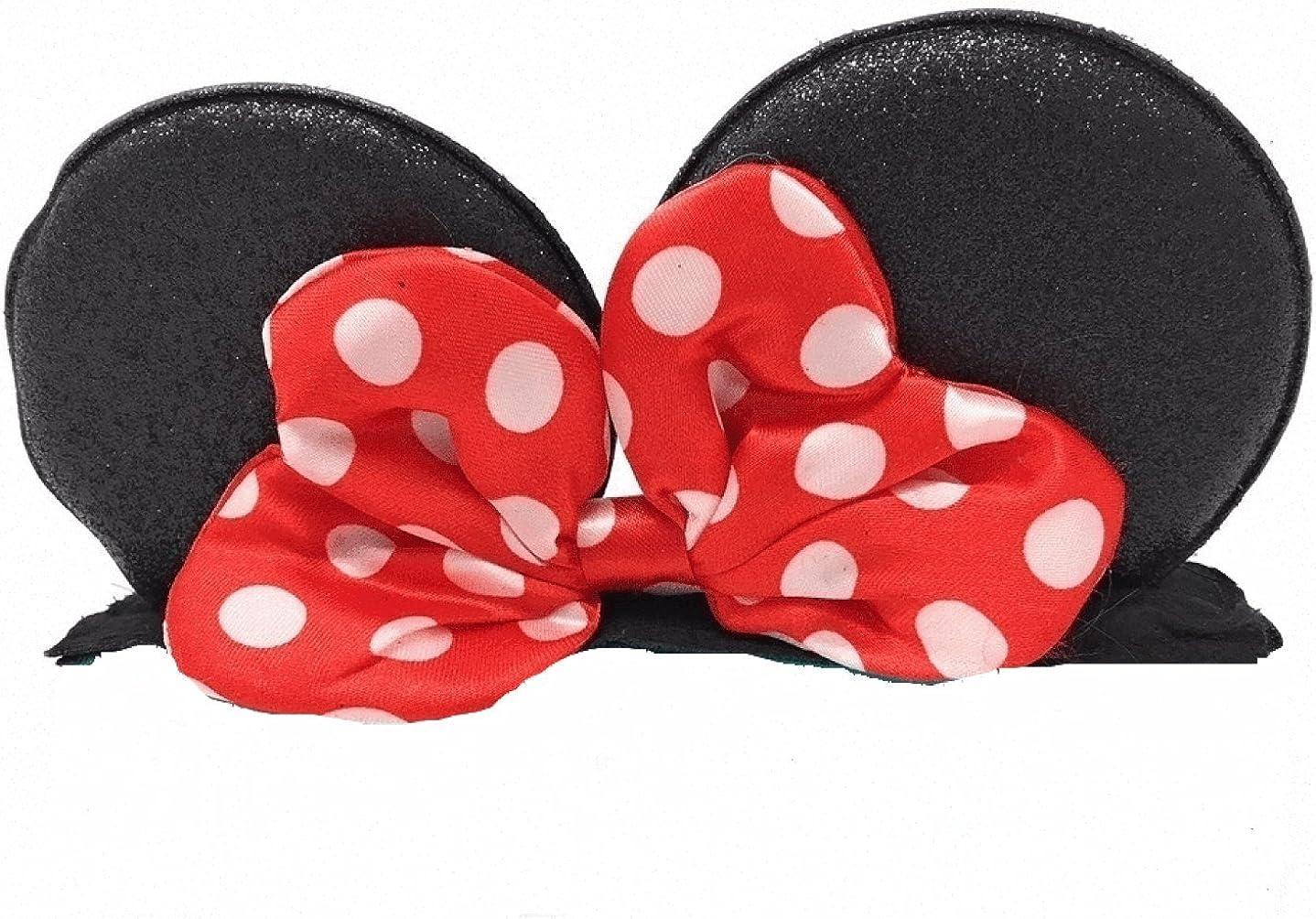 Disney Baby Character Minnie Birthday Girl bib//Headband Set 0-12 Months
