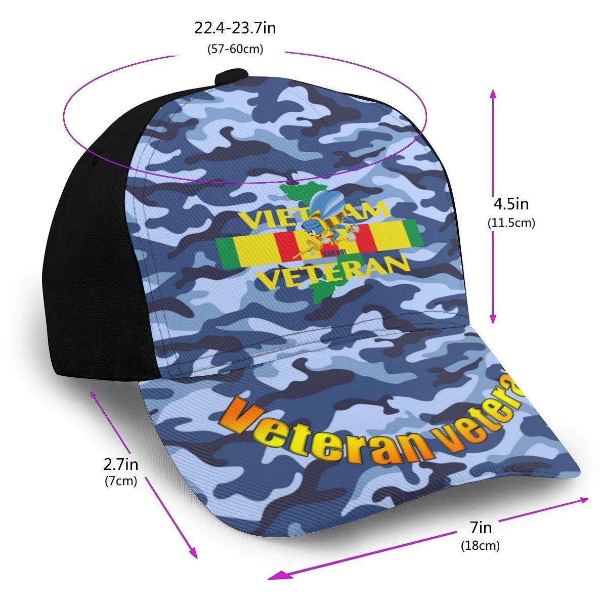 Navy Seabee Vietnam Veterans Classic Adult Cap Printing Bend Along Baseball Hats Snapback Unisex Caps Adjustable