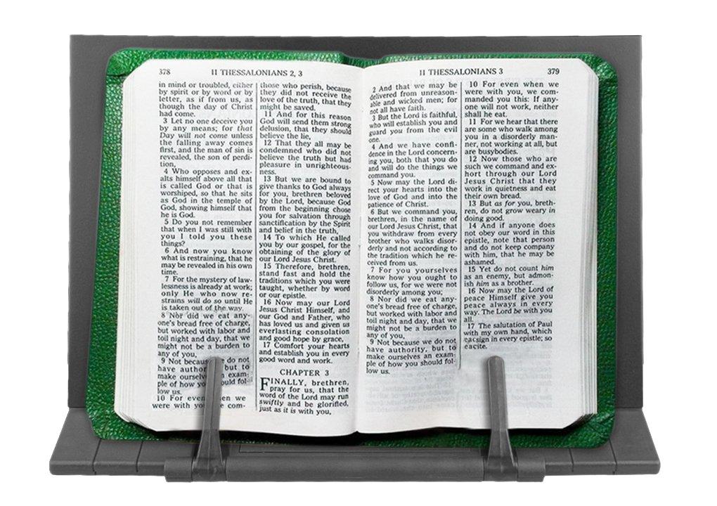 Porta Libro in Metallo Tablet supporto lettura/iPad/Libro di ricetta regolabile 6posizioni Leggio di lettura Lutrin di musica Book Holder tagliere per composizione YSXY