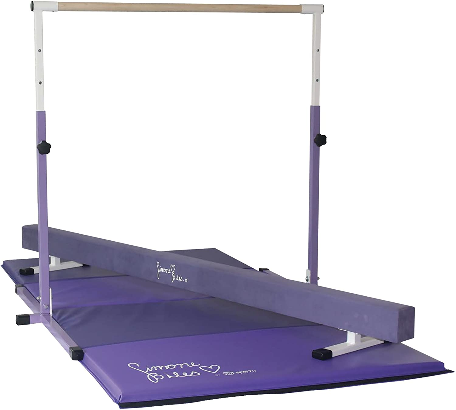Team Sports SIMOME Biles Gymnastics Gold Star Package-MAT, Beam and BAR Combo!!