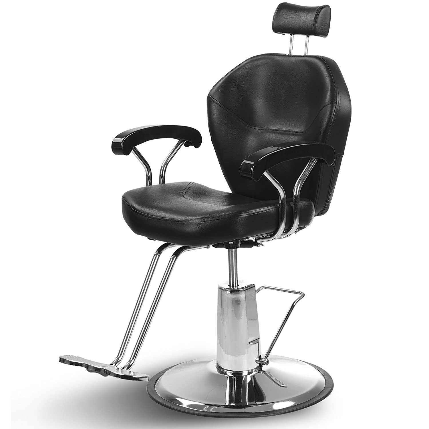 Superworth Elegance Barber Chair Hydraulic Recline Swivel Adjustable Salon Beauty Tattoo Hairdressing Shaving DongKai