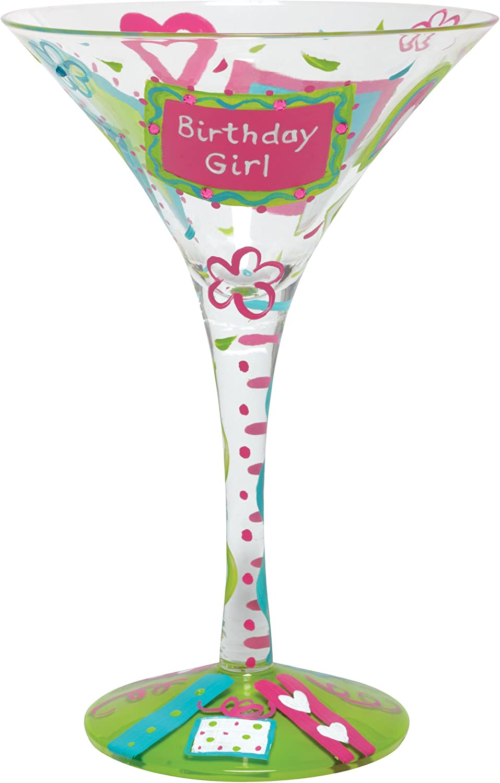Lolita Birthday Wine Martini Shot Beer Pilsner Glass