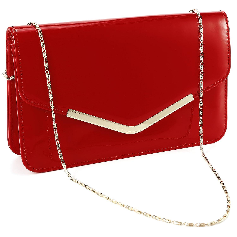 Fraulein38 PU Clutch Bag...