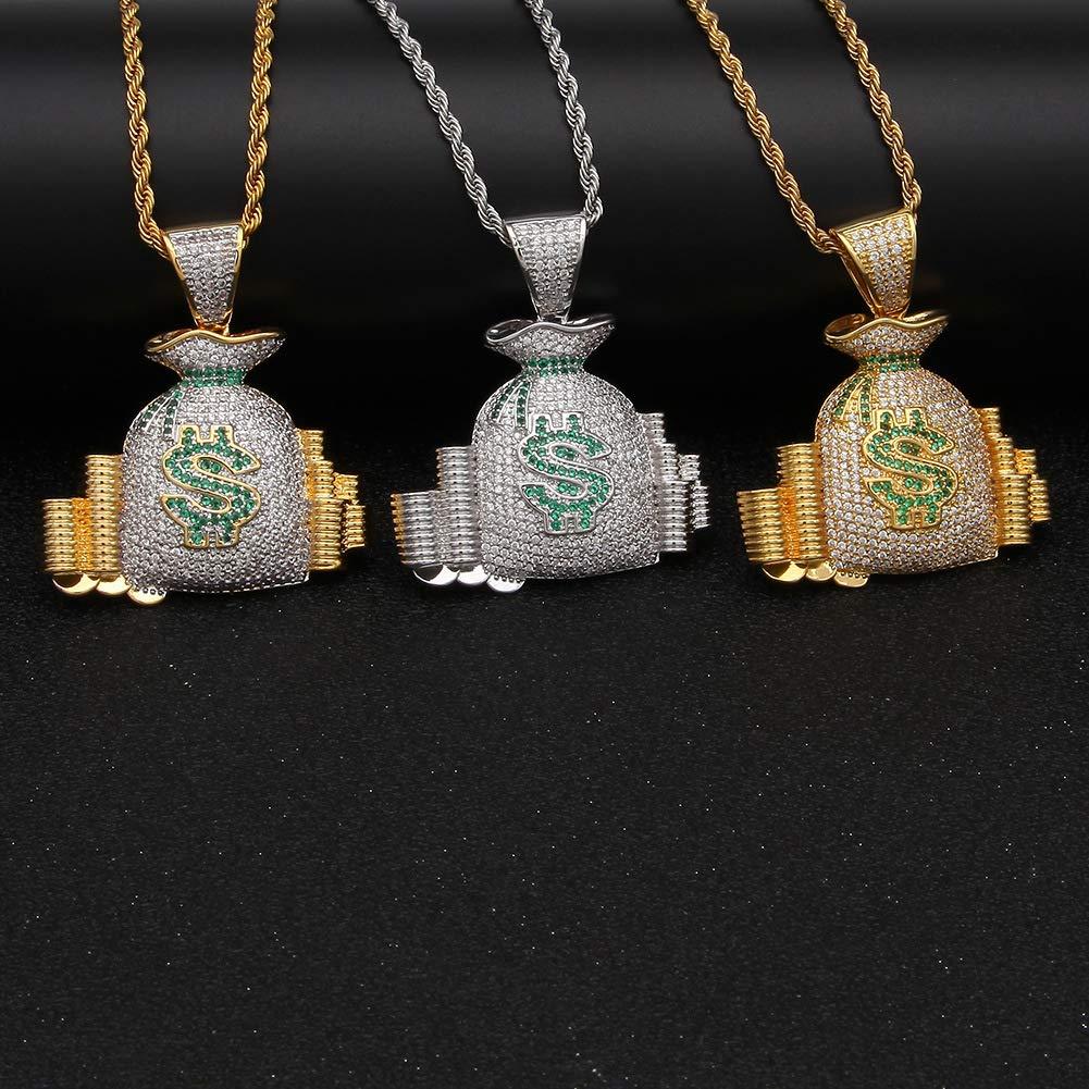 Accesorios de Hip-Hop Monedero con símbolo de dólar de Hip ...