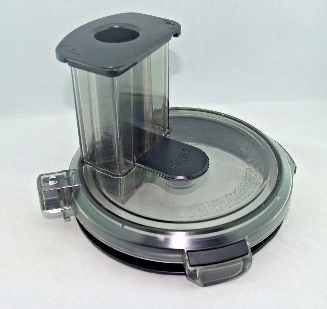 Ninja Blender Feed Chute Lid and Pusher for BL773CO 1500w Mega Kitchen System US STOCK