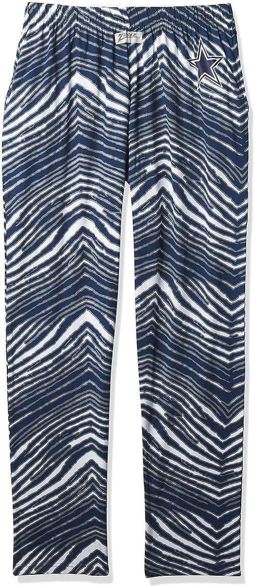 New Free Shipping Zubaz Men's Zebra Left Hip Pant Track Logo New item