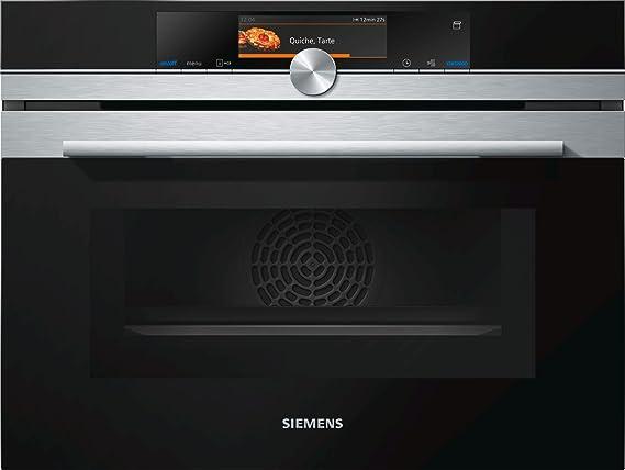 Siemens-lb iq700 - Horno compacto microondas cn678g4s6: Amazon.es ...