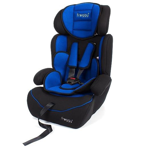 7 opinioni per Froggy seggiolino auto BCS01 blu, gruppo I, II e III 9-36 kg da 9 mesi a 12 anni