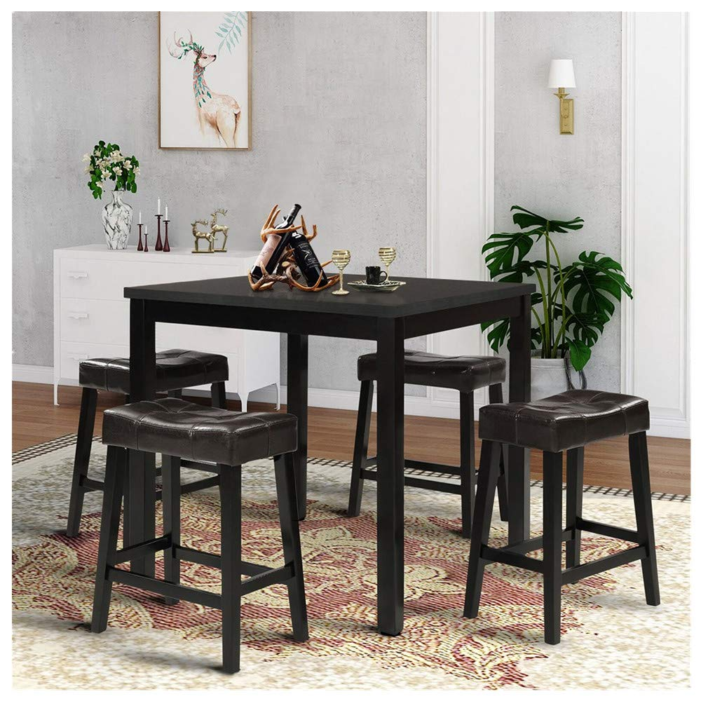 KCPer Dining Square Kitchen Table Laptop Desk Computer Table Dining Table Accent Table Small Writing Desk Gaming Desk Students Laptop Use by KCPer