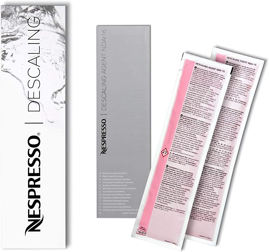 Nespresso - Descalcificador Descaler 3035/CBU-2 para los modelos ...