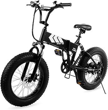Swagtron EB-8 Outlaw Fat Tire bicicleta eléctrica – plegable ...