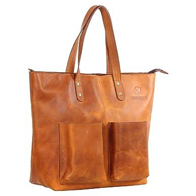 Amazon.com: Visvesa - Bolso de piel para bebé, color marrón ...