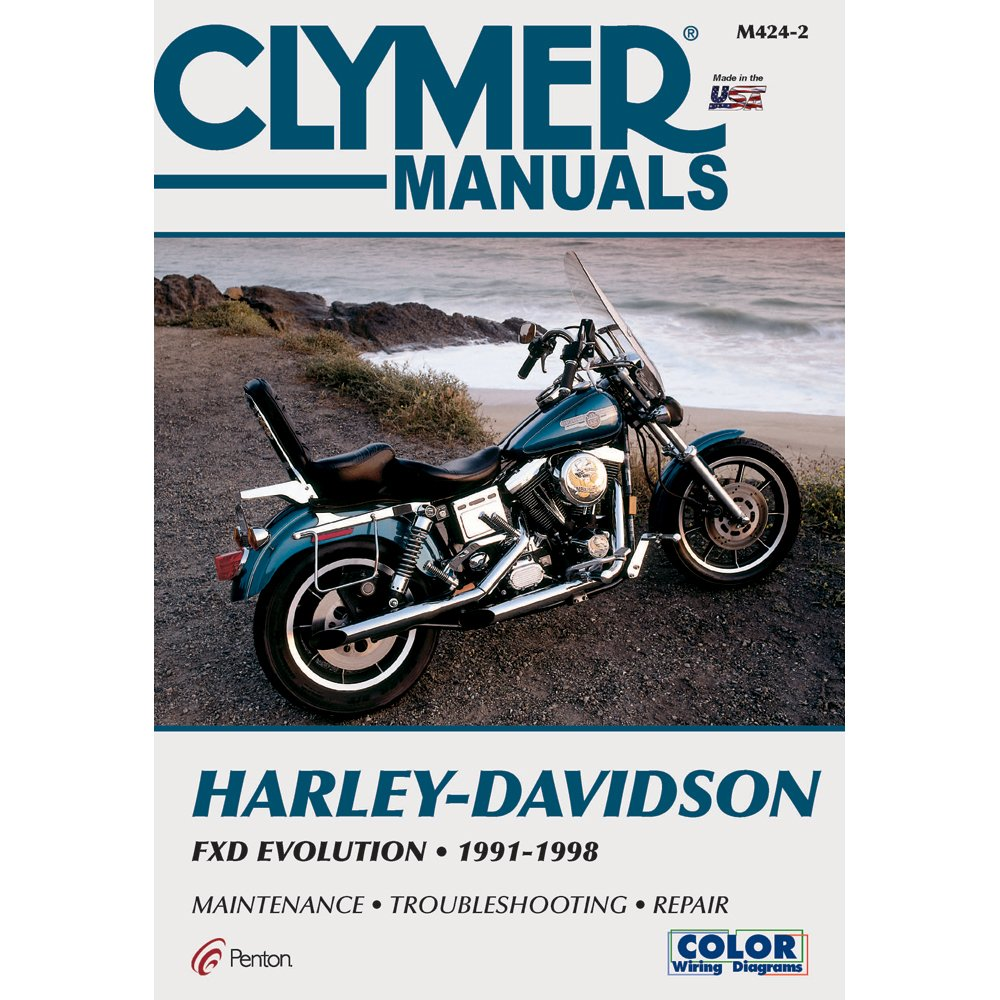 Amazon.com: Clymer Harley-Davidson FXD Evolution (1991-1998): Manufacturer:  Home Audio & Theater