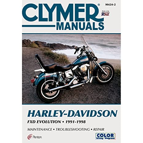 amazon com: clymer harley-davidson fxd evolution (1991-1998) (53147):  manufacturer: home audio & theater