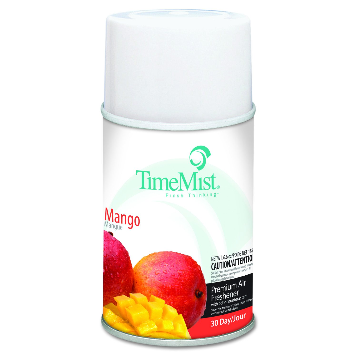 TimeMist 1042810 Metered Fragrance Dispenser Refills, Mango, 6.6oz, Aerosol (Case of 12) by Timemist