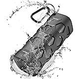 Altavoz Bluetooth Portatiles, 20W Estéreo Premium Altavoz Inalambrico, 5200mAh IPX56 Impermeable y Driver Doble, A Prueba de Polvo Resistente a Golpes Micrófono Incorporado, 33ft 24H Reproducción