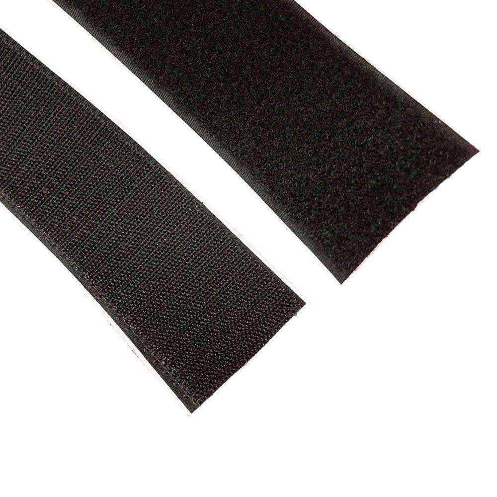 BlueDot Trading Velcro Sticky Back 1-Inch by 3-Feet Black Blue Dot Trading 1inch-1-yards-black