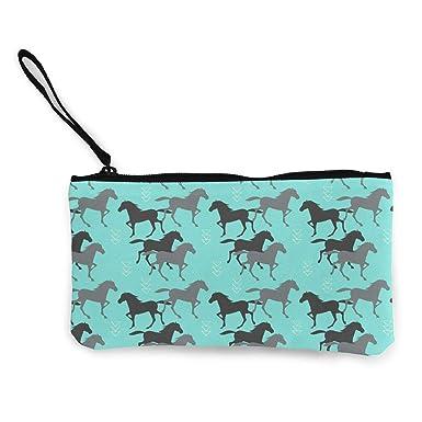 Amazon.com: Wild Horse - Monedero para correr de caballo ...
