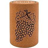Biosughero - Sgabello in sughero, forma tappo vino