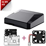 Argon ONE Raspberry Pi 4 Case with Cooling Fan and Power Button | Supports Retro Gaming, Movies, and Music | for Raspberry Pi 4 Model B