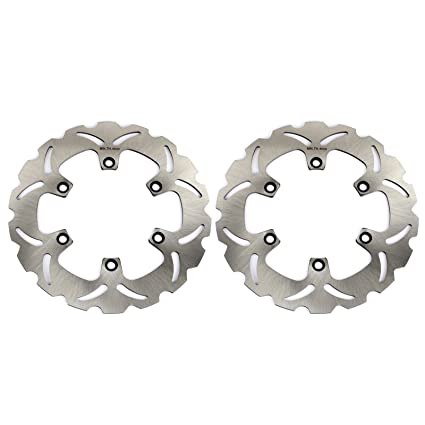 Amazon.com: TARAZON 2x Front Brake Discs Rotors for Kawasaki ...