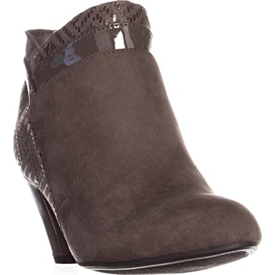 63c9df7f3c833 Karen Scott Womens Cahleb Closed Toe Ankle Fashion Boots, Stone, Size 6.0