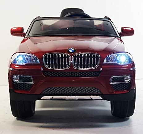 Amazon Com Electric Car With Parental Control Licensed Bmw X6 Ride