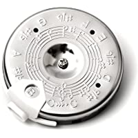 Elagon (PPC) Chromatic Pitch Pipe for Singers and Musicians - From C to C. Guitar, Bass, Violin, String Instrument, Brass Instrument Tuner.