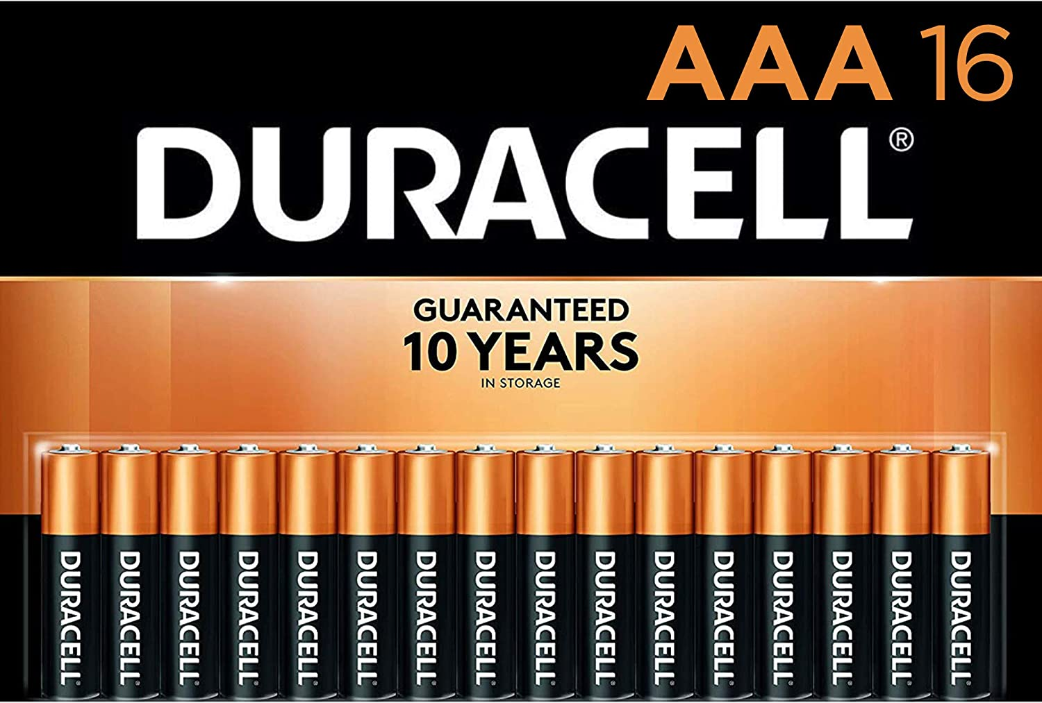 Duracell CopperTop AAA碱性电池