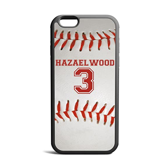 cheap for discount a6d08 bd8fc CodeiCases iPhone 5/5s/5SE Baseball Case With Custom Name And Number,  Baseball Custom Case, Cover Rubber Black Baseball iPhone Case