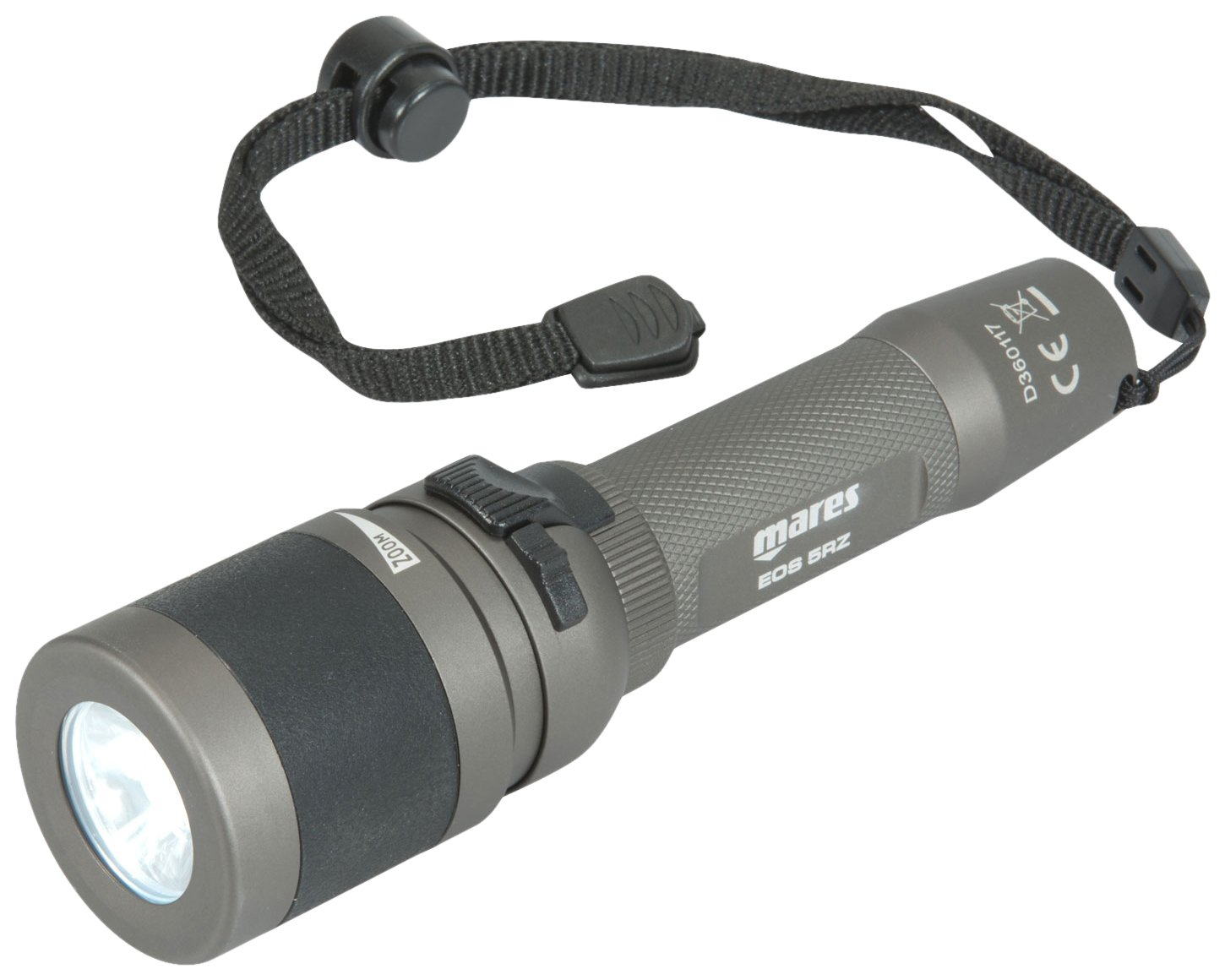 Mares Eos 5Rz Magnetic Rechargeable Waterproof Torch