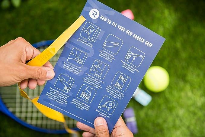 Raquex - Juego de 30 agarres de Repuesto para Raqueta de Tenis ...