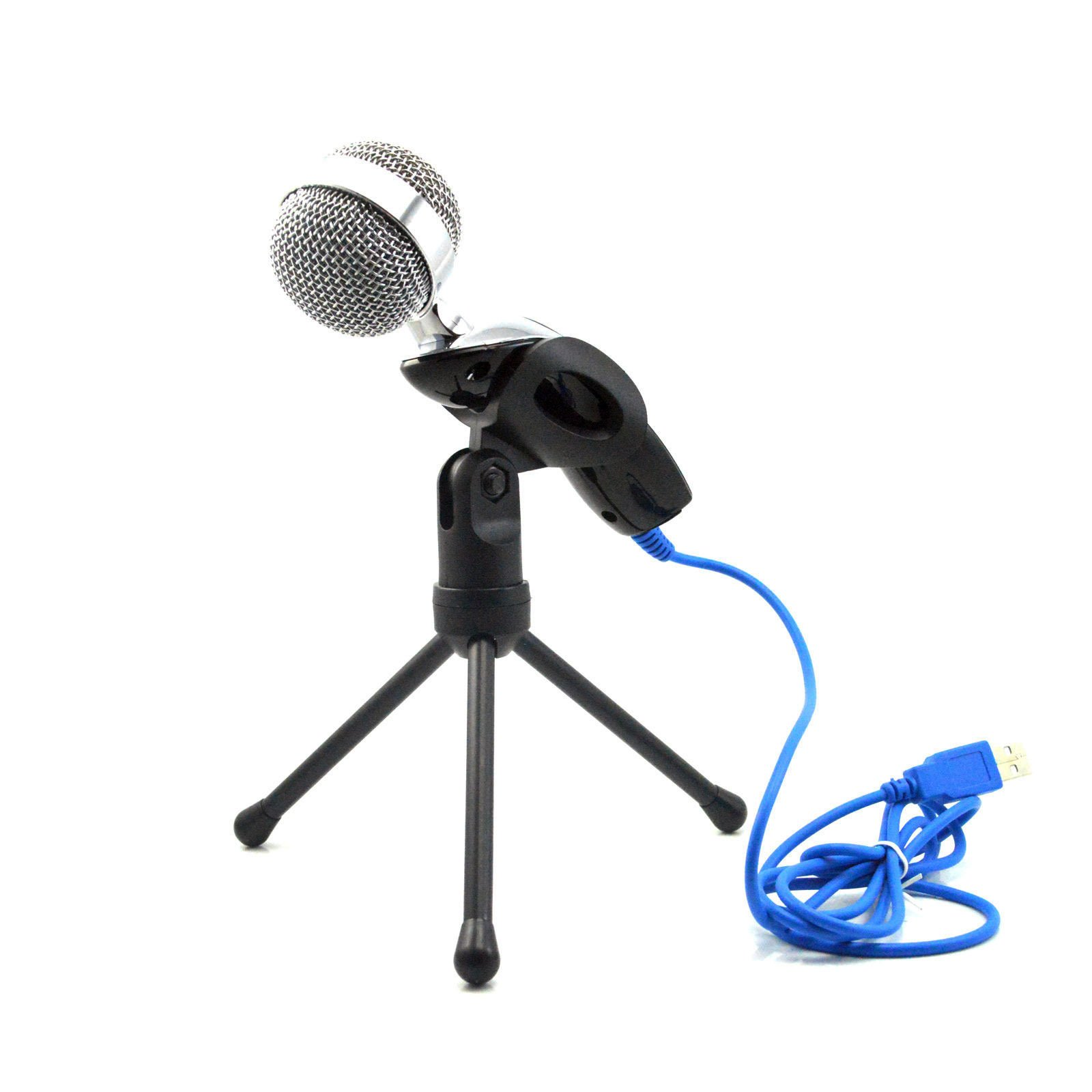 Condenser Microphone 3.5mm Jeystar Jack Plug and Play for PC Laptop Desktop Ideal Reccording for YouTube Live Broadcast Business Teleconference Skype (Black USB)