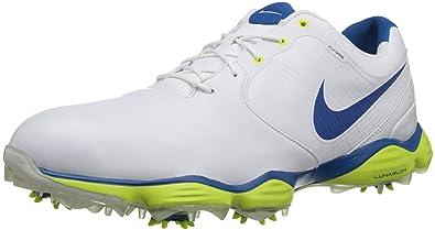nike lunar golf shoes blue