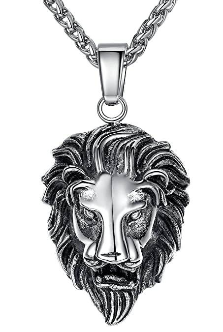 stone pendant biker lion on r rocker mens cz silver store fire product rbvahftwqlcaeuueaak sterling